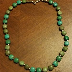 Jay king turquoise and sterling necklace